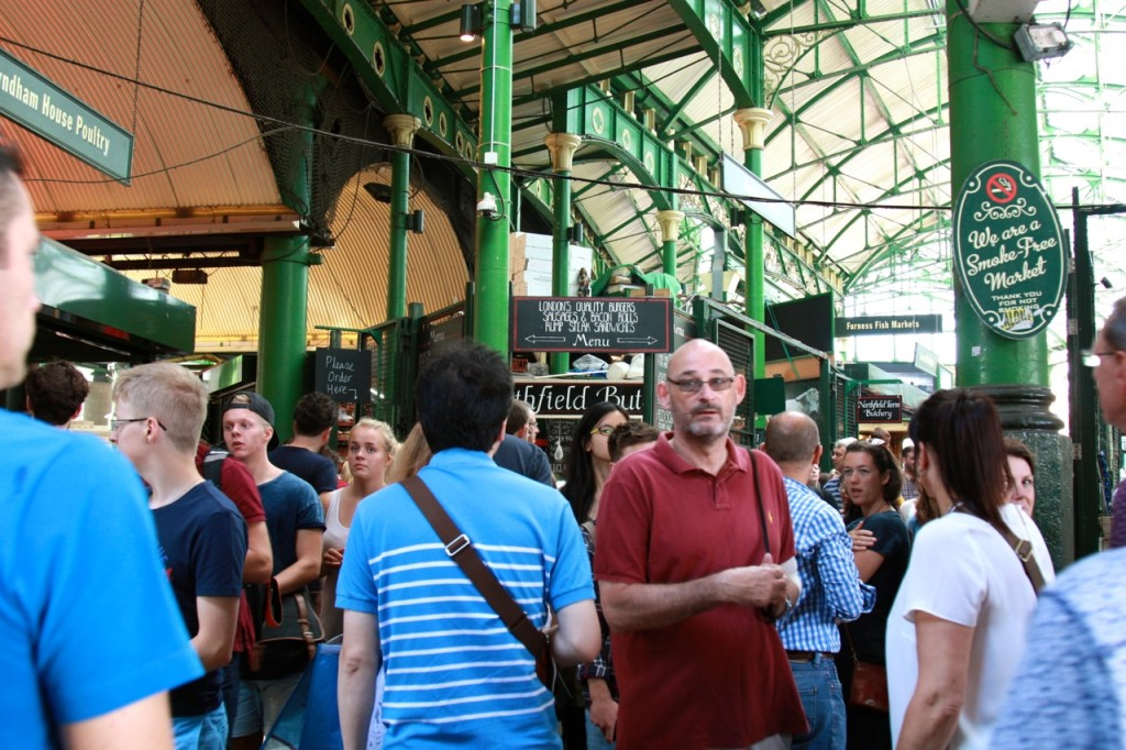 Borough Market London by Stephanie Sadler, Little Observationist