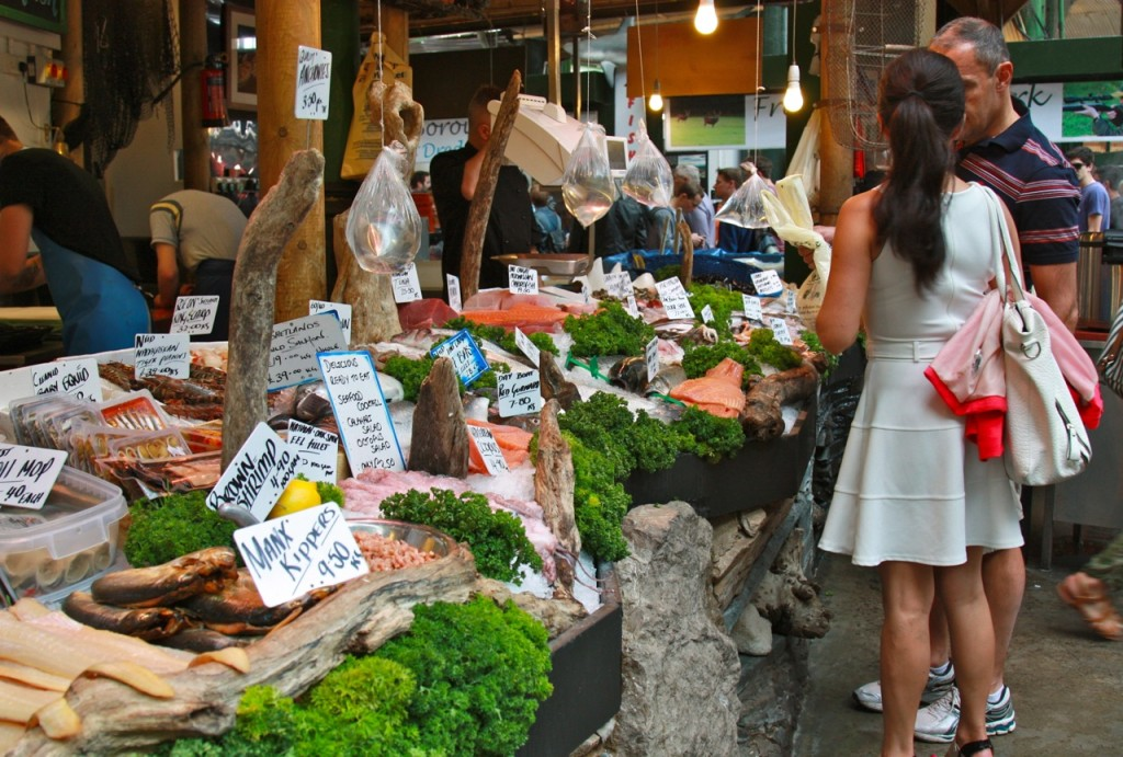 Borough Market London by Stephanie Sadler, Little Observationist