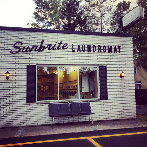 Laundromat, Photo by Stephanie Sadler, Little Observationist