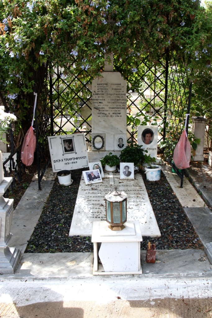 First Cemetery, Athens by Stephanie Sadler