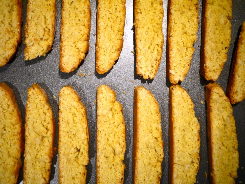 Recipe for Almond Biscotti, Little Observationist