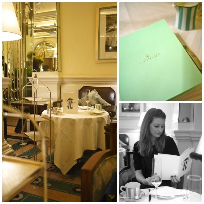 Claridges, Afternoon tea, stephanie sadler, little observationist