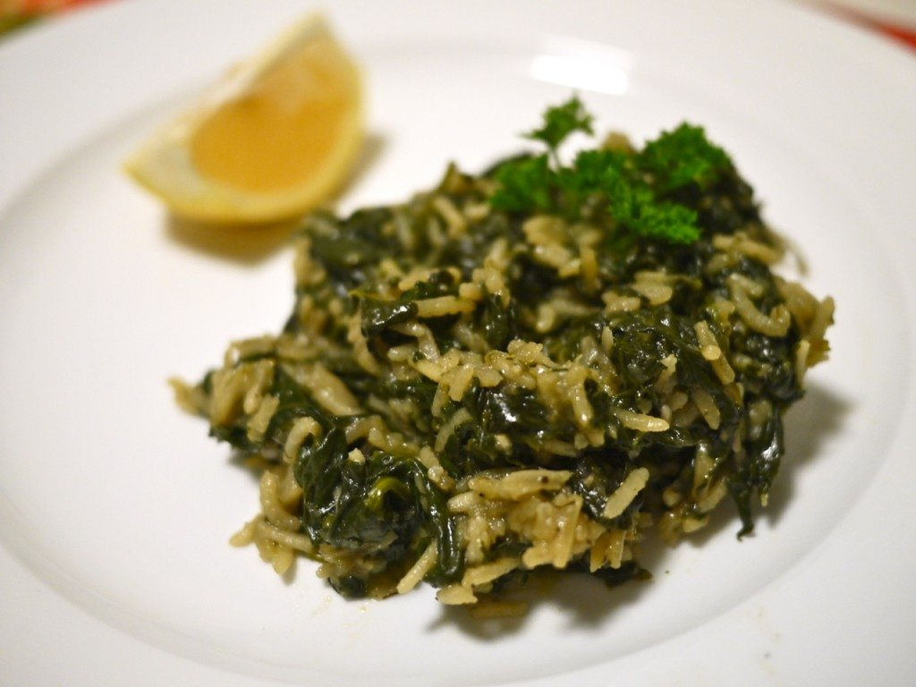 Stephanie Sadler, Little Observationist - Spinach and Rice Recipe