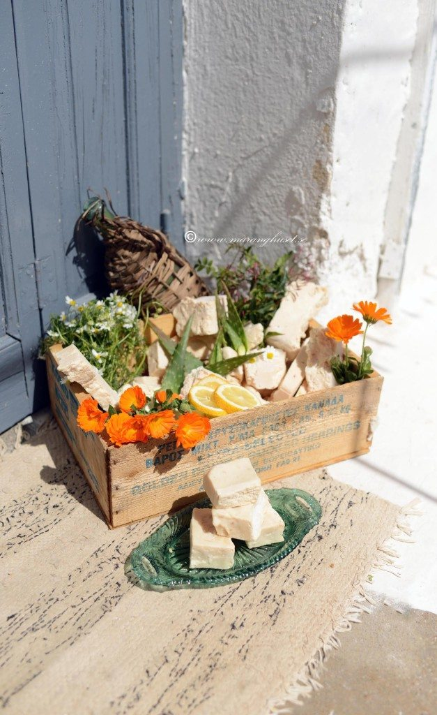 Handmade Traditional soaps with extra virgin olive oil, aloe  and more such as calendula, lemon, orange