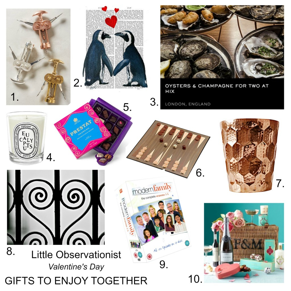 valentines day gift guide 2015 Little Observationist blog