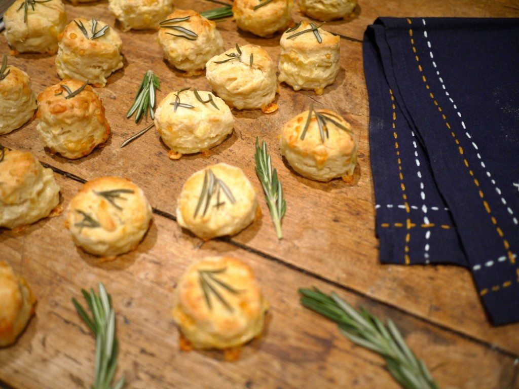 Recipe - Rosemary Cheese Scones from The Shed, Little Observationist