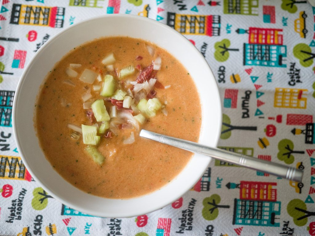 Gazpacho Recipe, Little Observationist