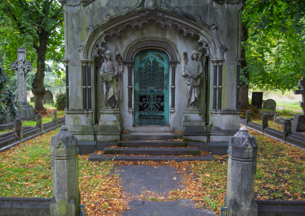 Brompton Cemetery, London by Stephanie Sadler, Little Observationist