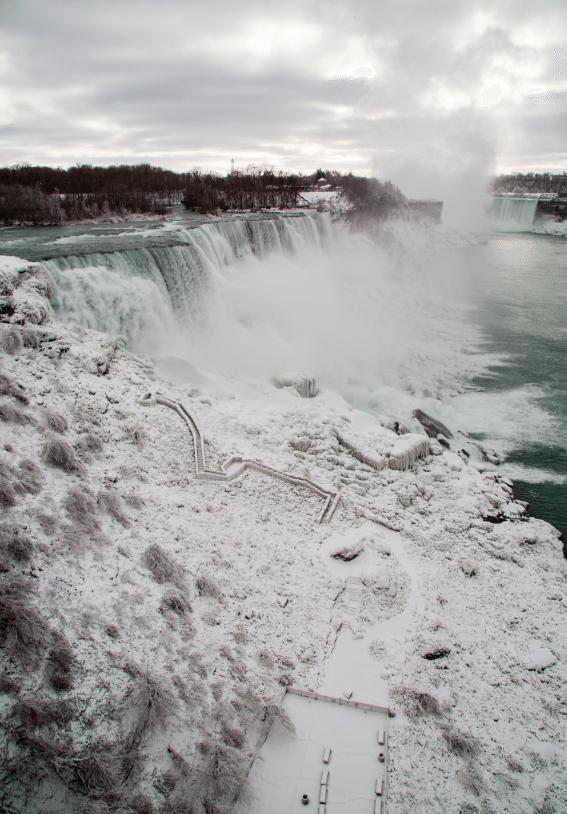 Niagara Falls, New York by Stephanie Sadler