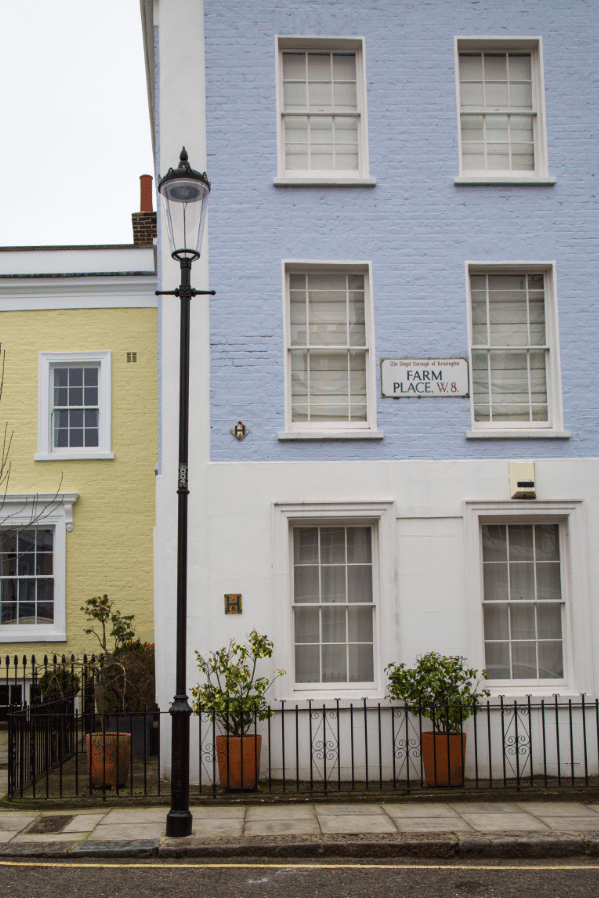 Colourful Houses of Notting Hill, London by Stephanie Sadler, Little Observationist