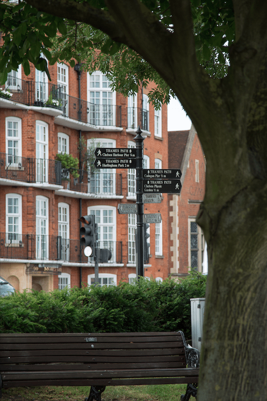 A London Walk from South Kensington to World's End by Stephanie Sadler, Little Observationist