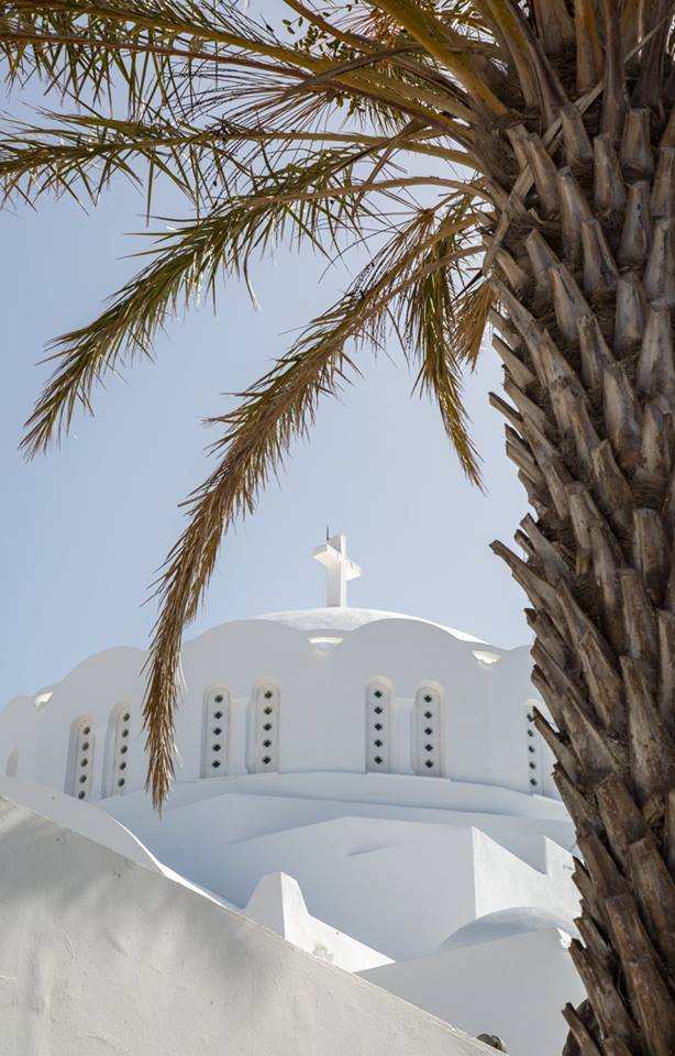 Fira, Santorini, Greece by Stephanie Sadler, Little Observationist