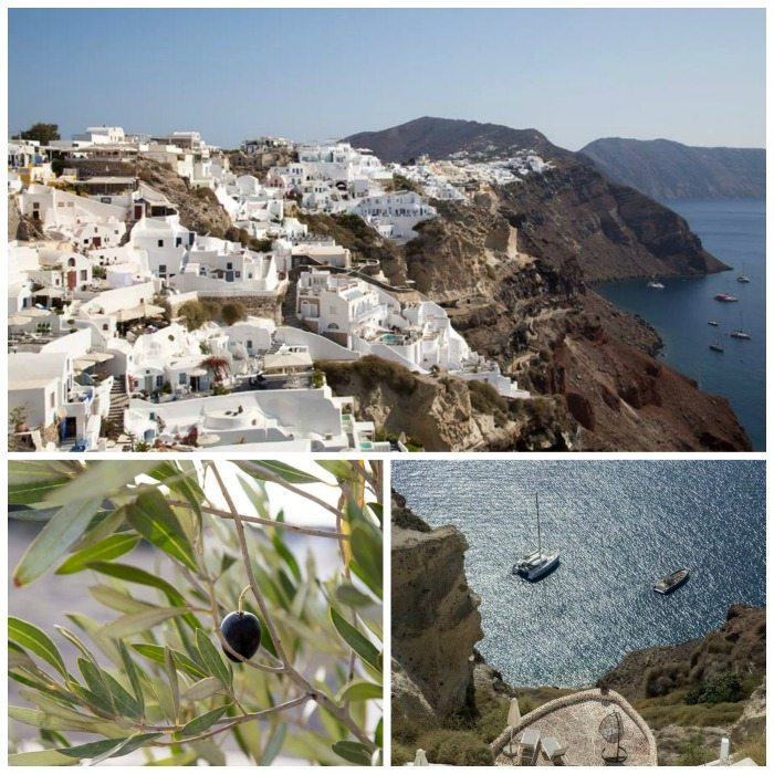 Oia, Santorini, Greece by Stephanie Sadler, Little Observationist