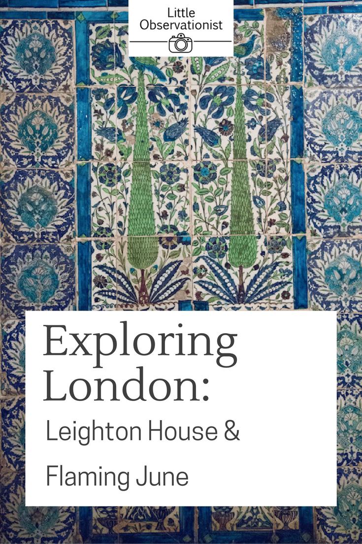 Leighton House, London by Stephanie Sadler, Little Observationist